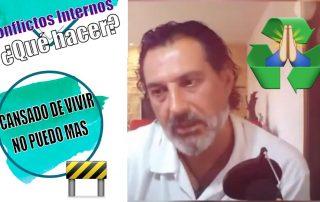 ESTOY CANSADO DE VIVIR. NO PUEDO MAS